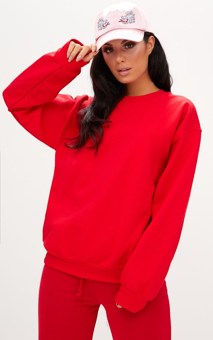 Ultimate Red Crew Neck Sweater