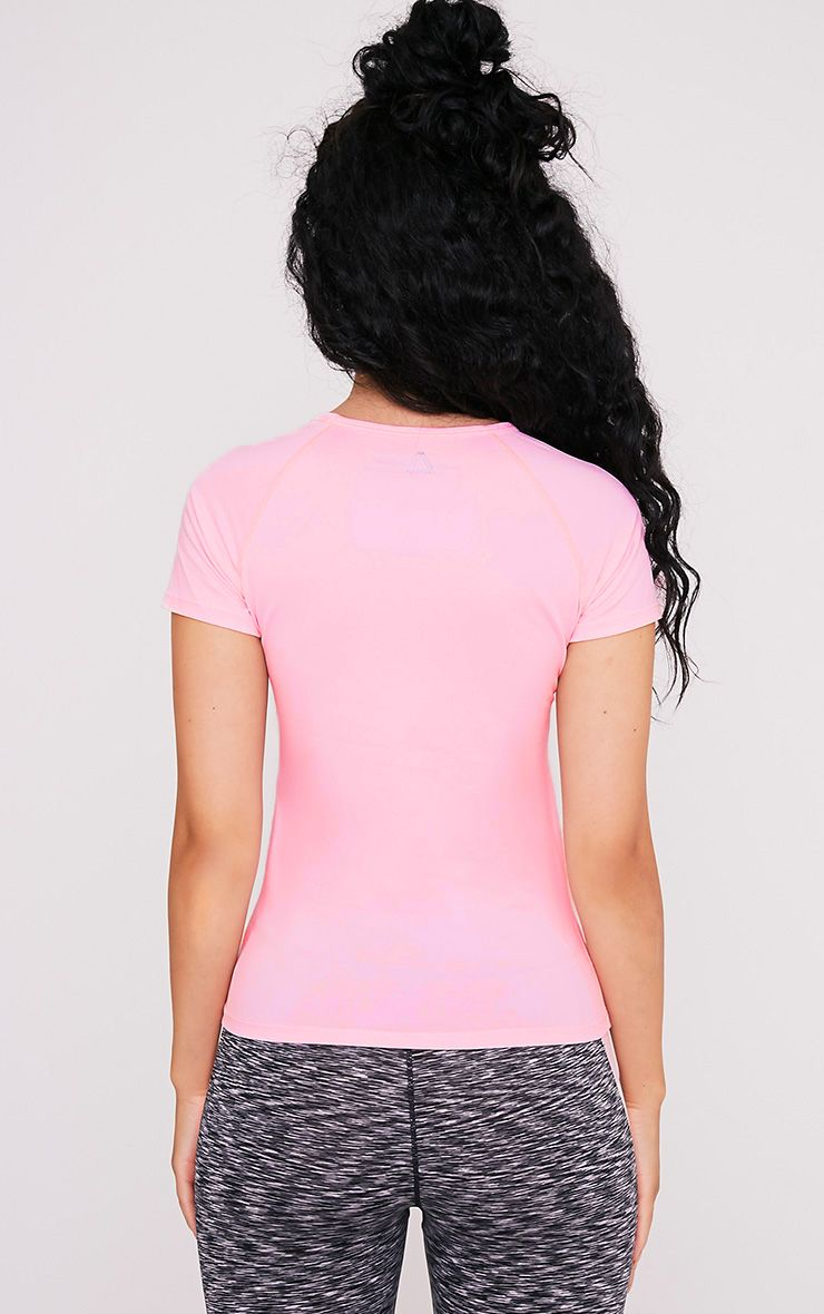 Tia t-shirt de sport à manches courtes rose bébé 2