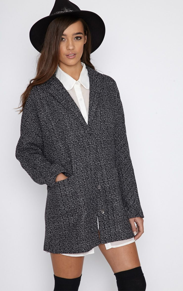 Vivian Grey Flecked Boyfriend Coat  1