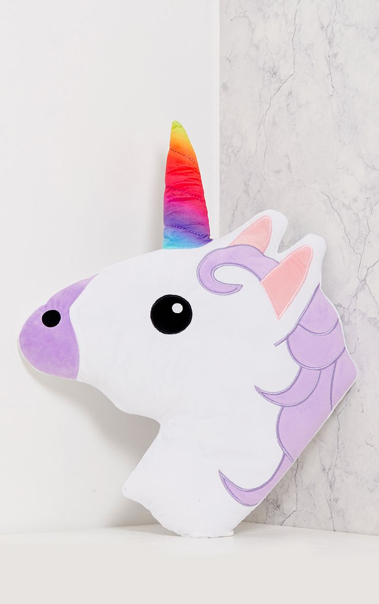 Multicolour Unicorn Cushion