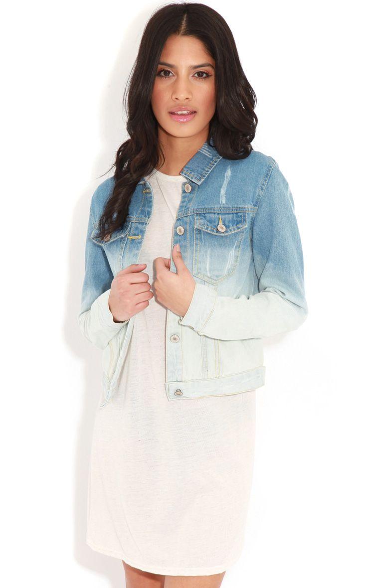 Rebecca Faded Denim Jacket 1