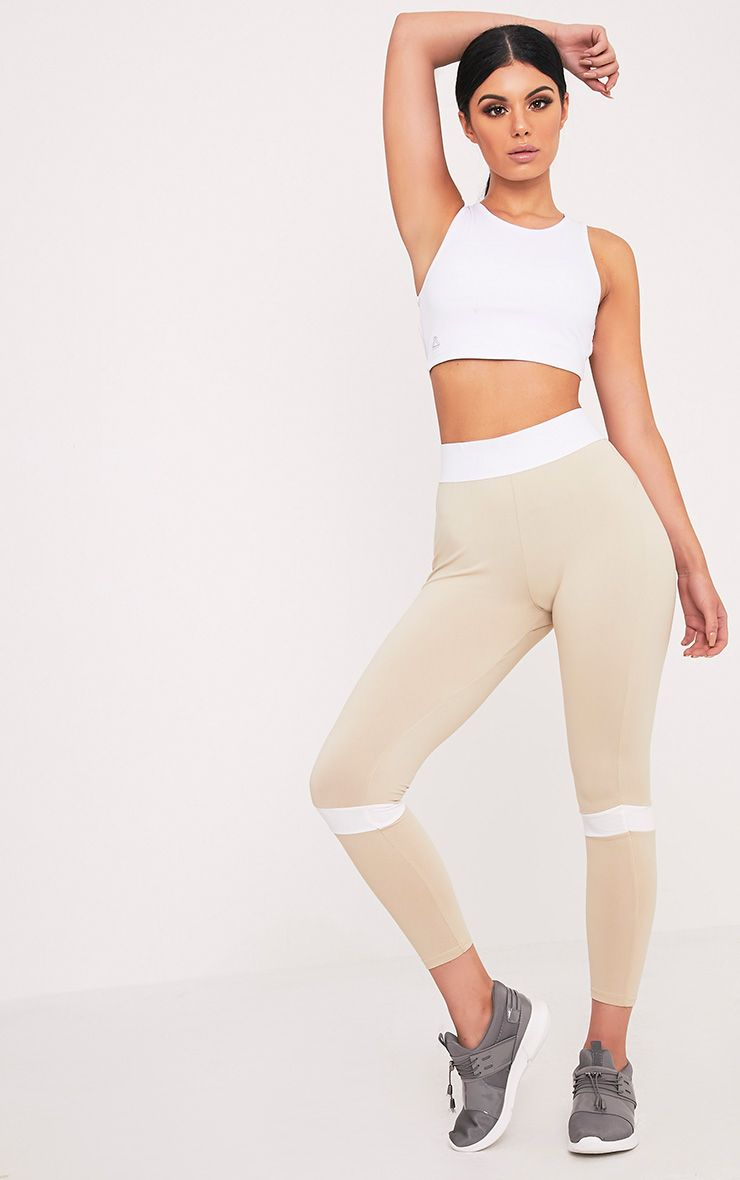 Grace Stone Panelled Gym Leggings