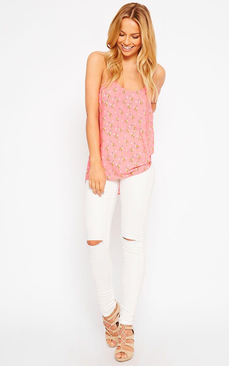 Raakel Pink Flamingo Vest 1
