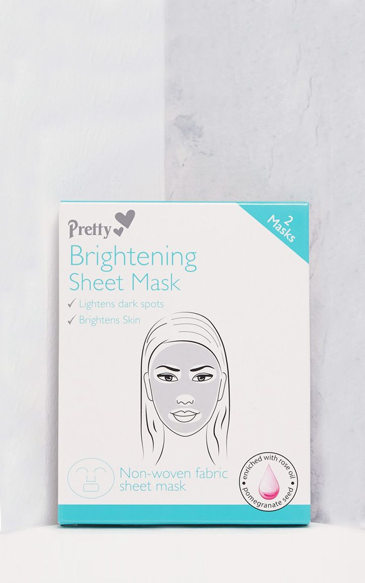 Pretty White Brightening Sheet Mask