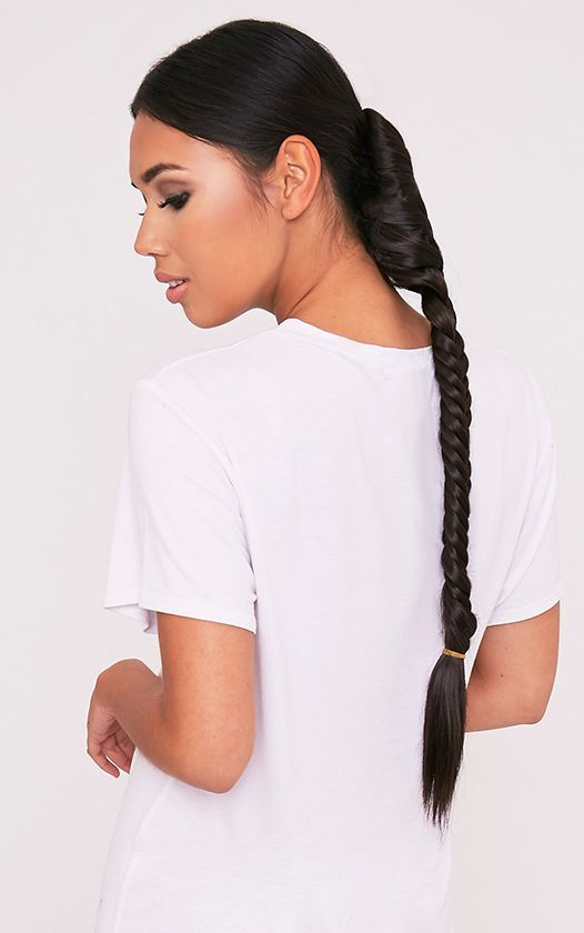 Dark Brown Fishtail Plait Extension