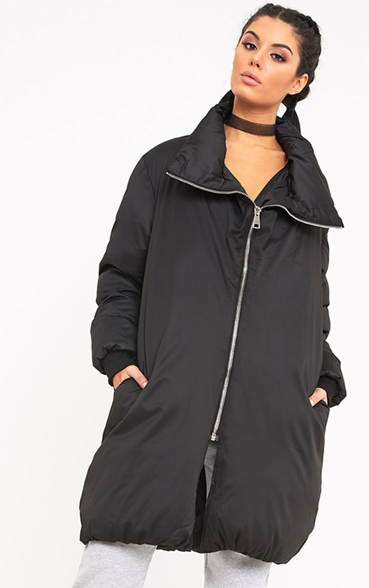 Rananna Black Oversized Jacket