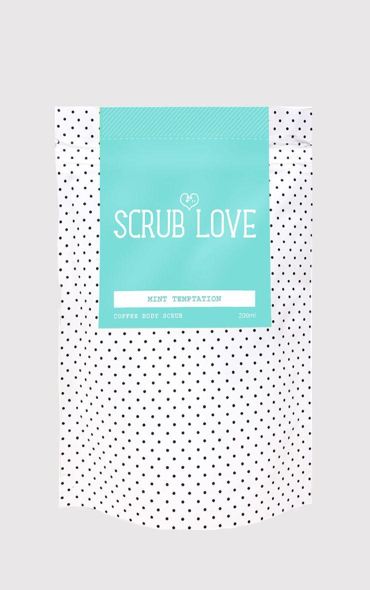 Scrub Love Coffee Scrub Mint Temptation