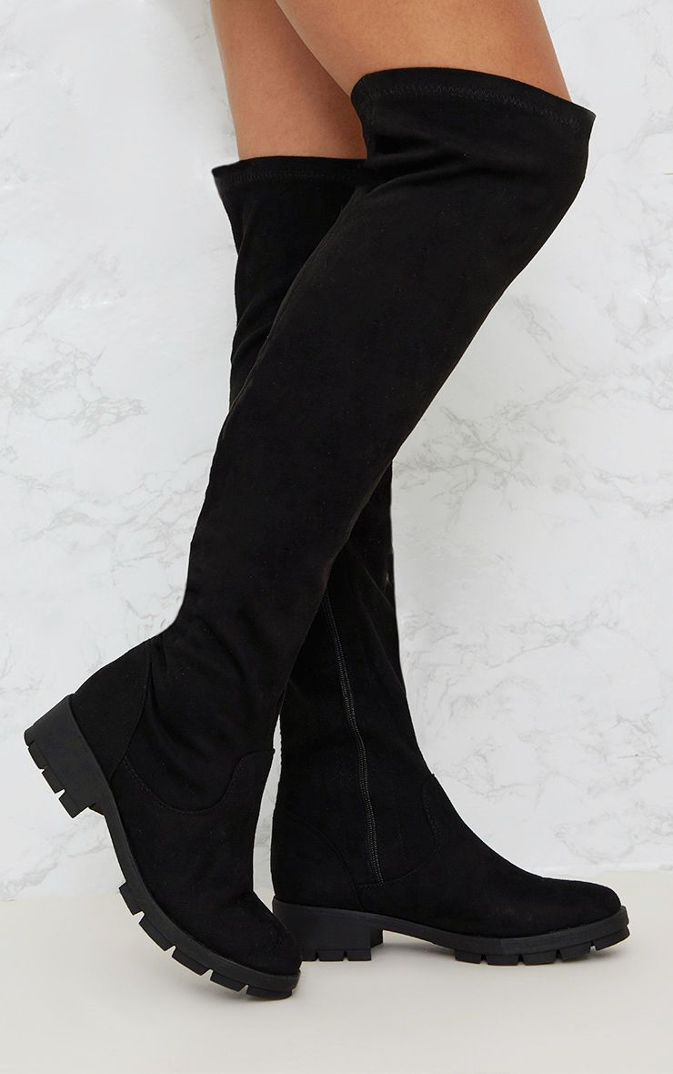 Shop for thigh high boots with ASOS. From flat over-the-knee boots in dress down stretch, to leather & suede heeled styles with ASOS.