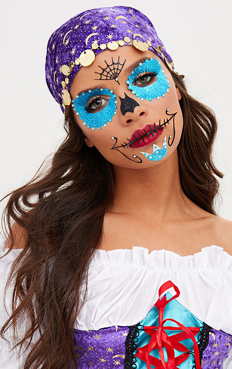 Sugar Skull Face Stickers