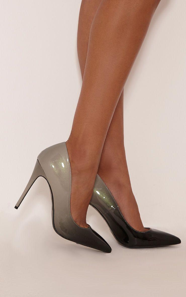 Black Patent Court Shoe Pretty Little Thing wMMf3