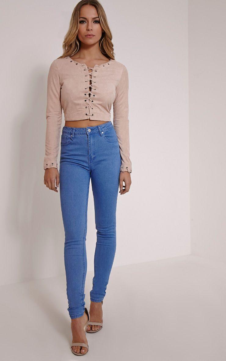 Stacha Blue Skinny Jean 1