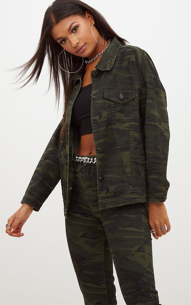 Women S Denim Jackets Cropped Amp Ripped Prettylittlething