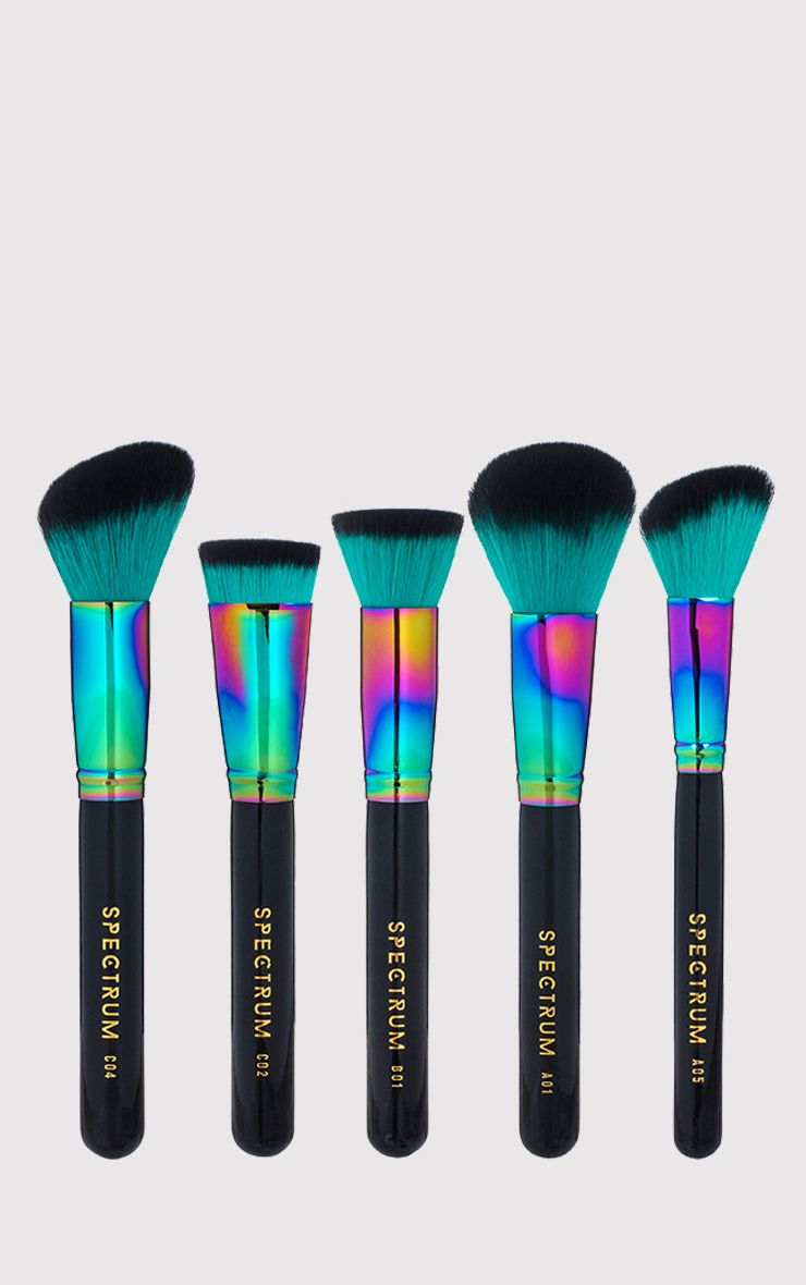 Spectrum 5 Piece Blue Siren Sculpt Brush Set