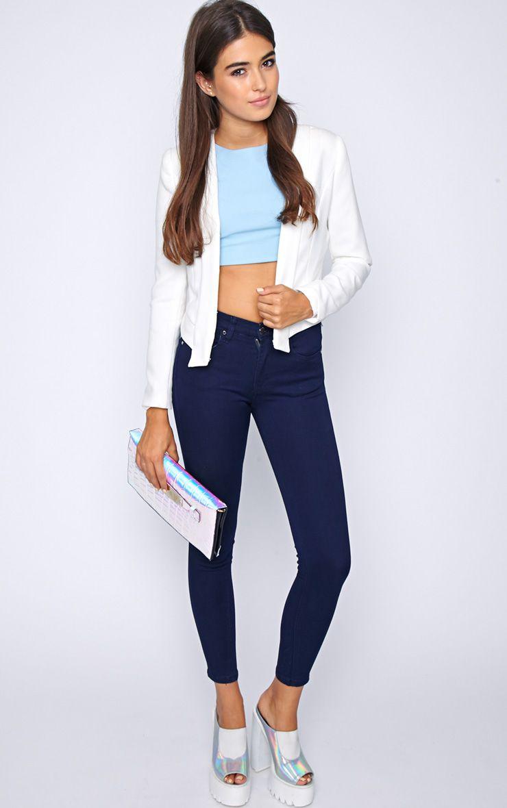Kimmy Navy Skinny Jeans 1