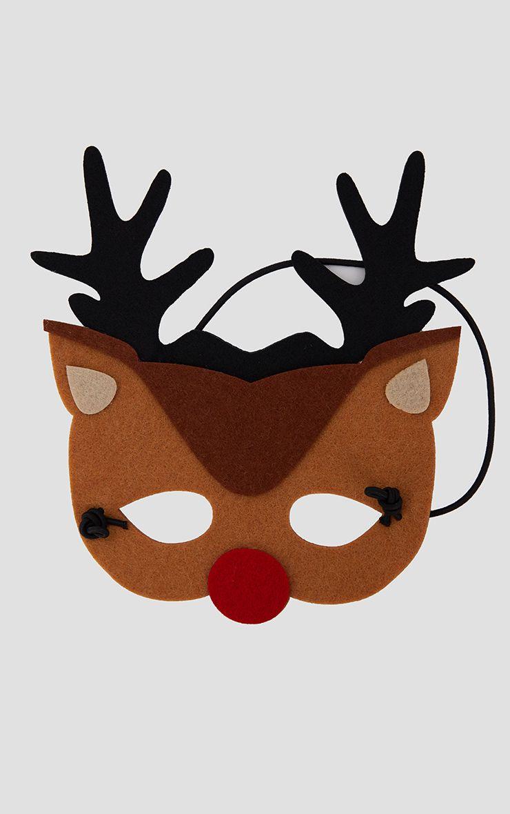 Furry Tales Felt Rudolf Mask