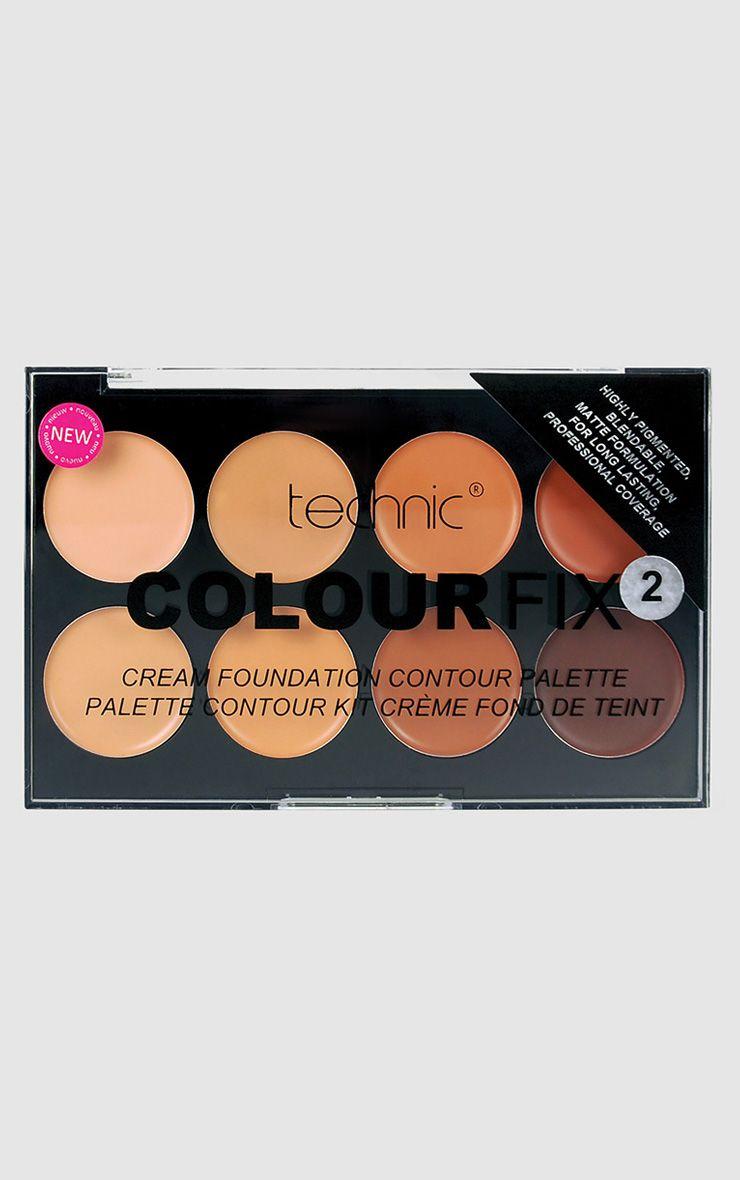Technic Colourfix Cream Foundation Contour Palette 2