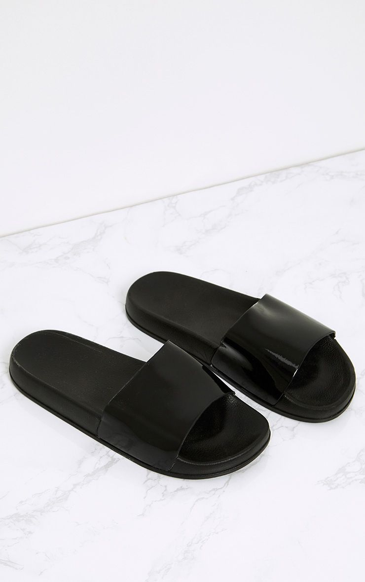 Brigette Black Sliders