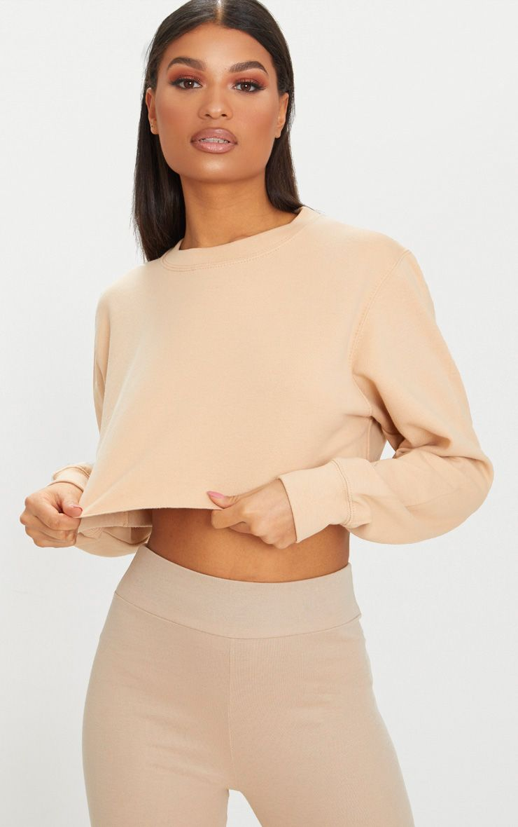 Peach Ultimate Cropped Sweater