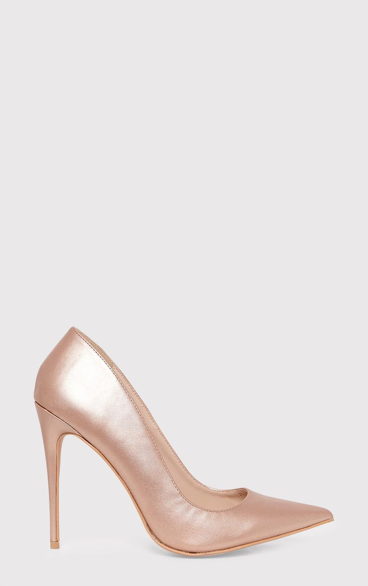 Cayleigh Rose Gold Pointed Heels