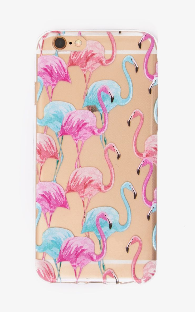 Pink Multi Flamingo Phone Case