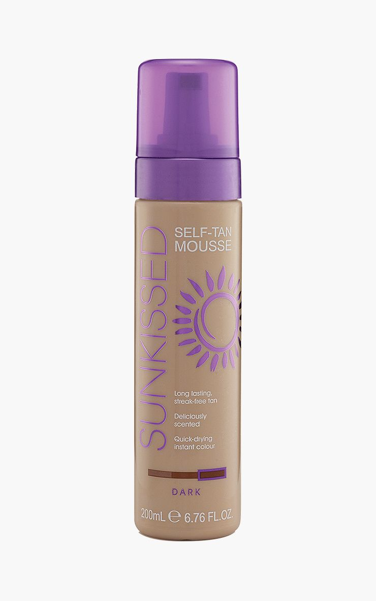 Sunkissed Dark Self-Tan Mousse