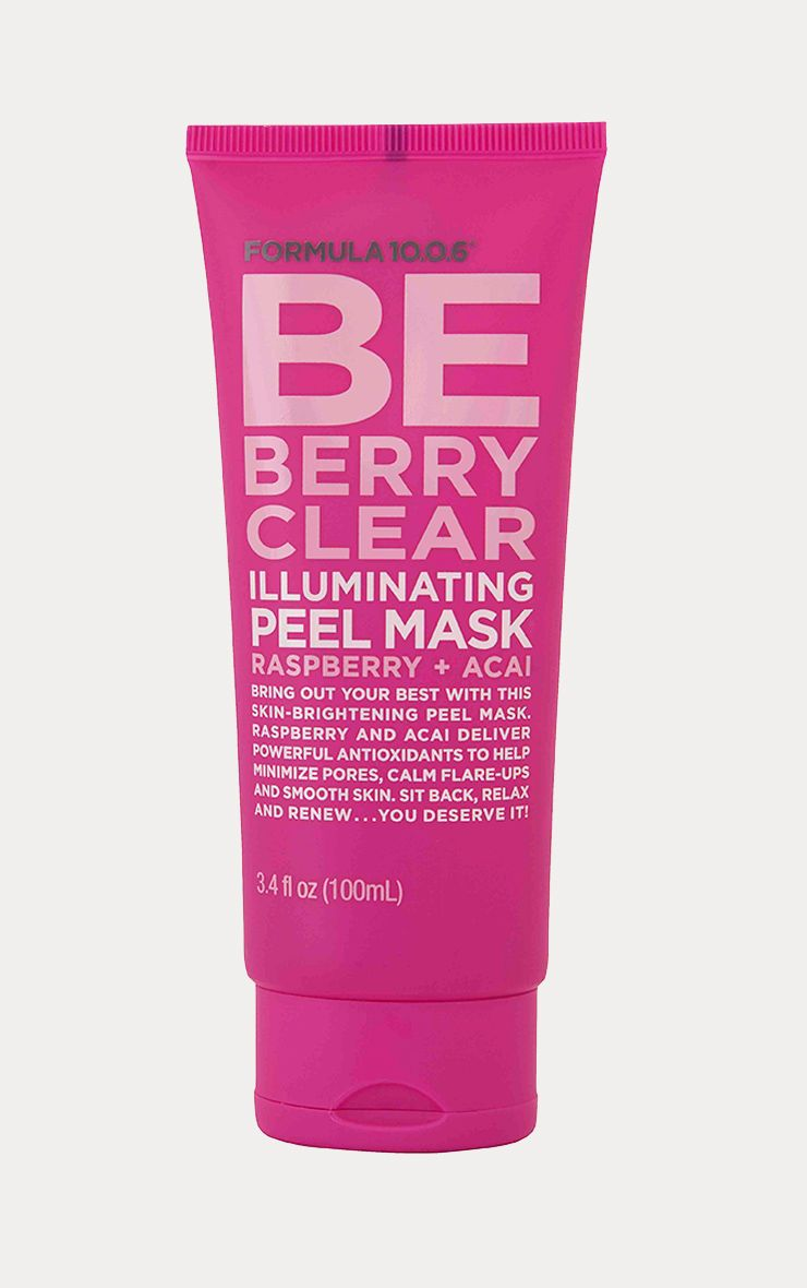 Formula 10.0.6 BE BERRY Clear Illuminating Peel Mask 1