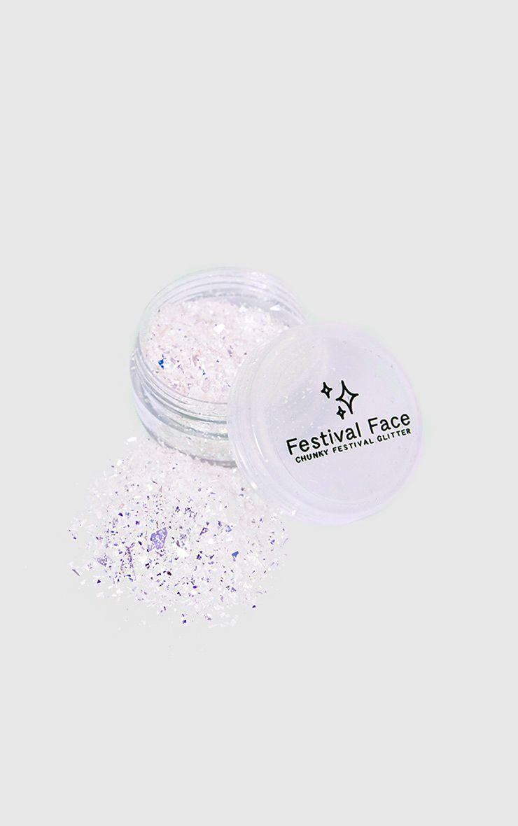 Festival Face Iridescent Glitter Flakes