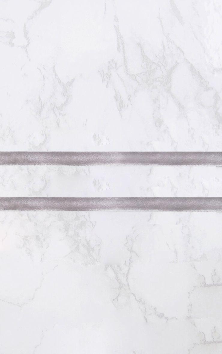 Grey Velvet Wrap Choker 3