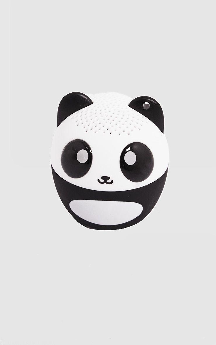 Black Mini Panda Speaker