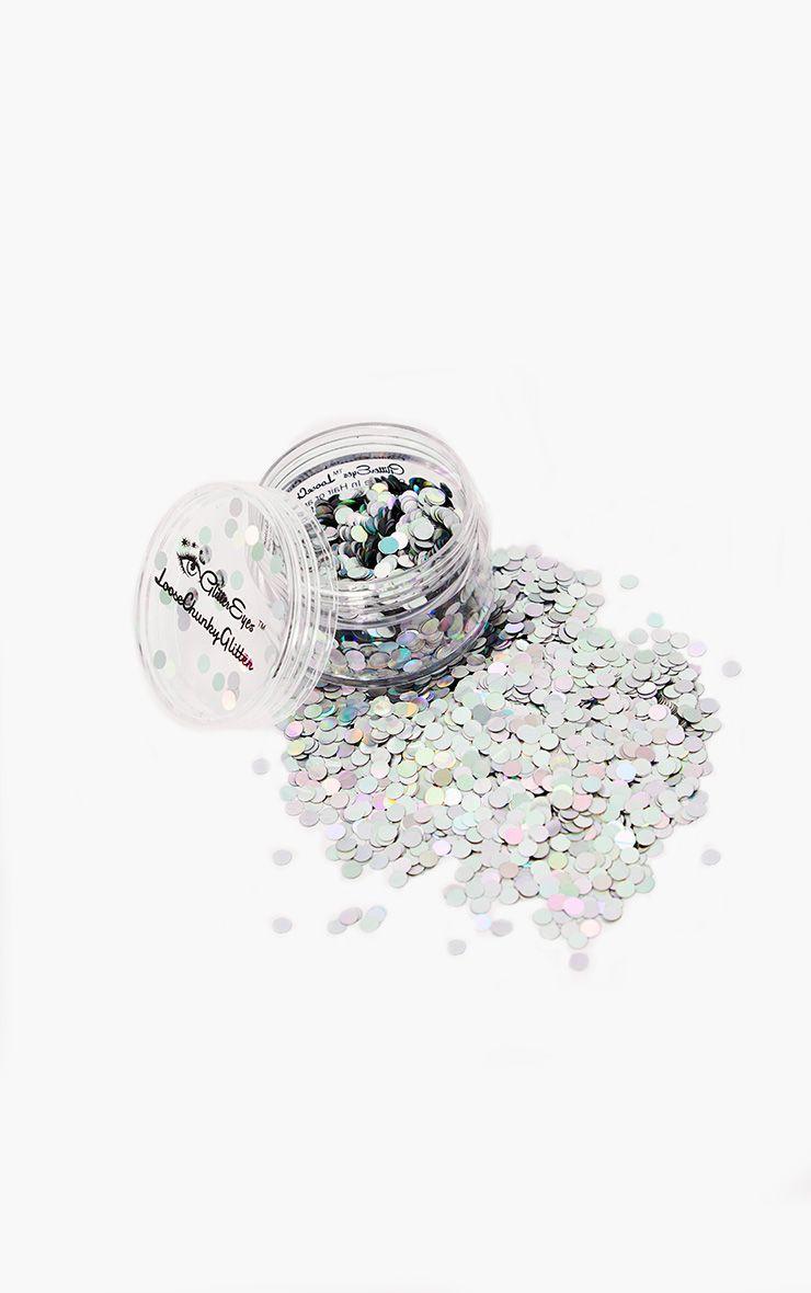 GlitterEyes Rainbow Dots Chunky Glitter Pot