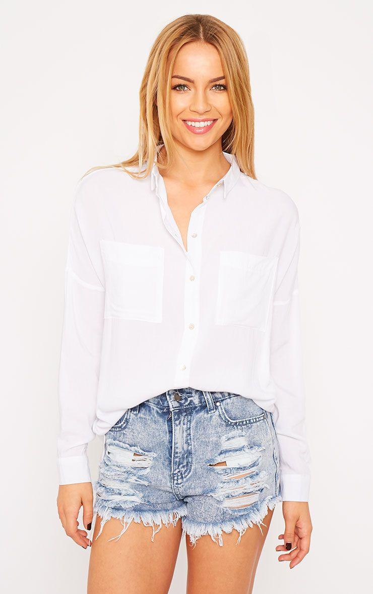 Agatha White Shirt 1