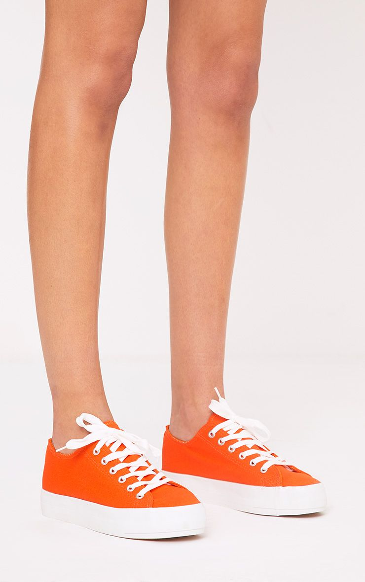 Azura Orange Pumps 1