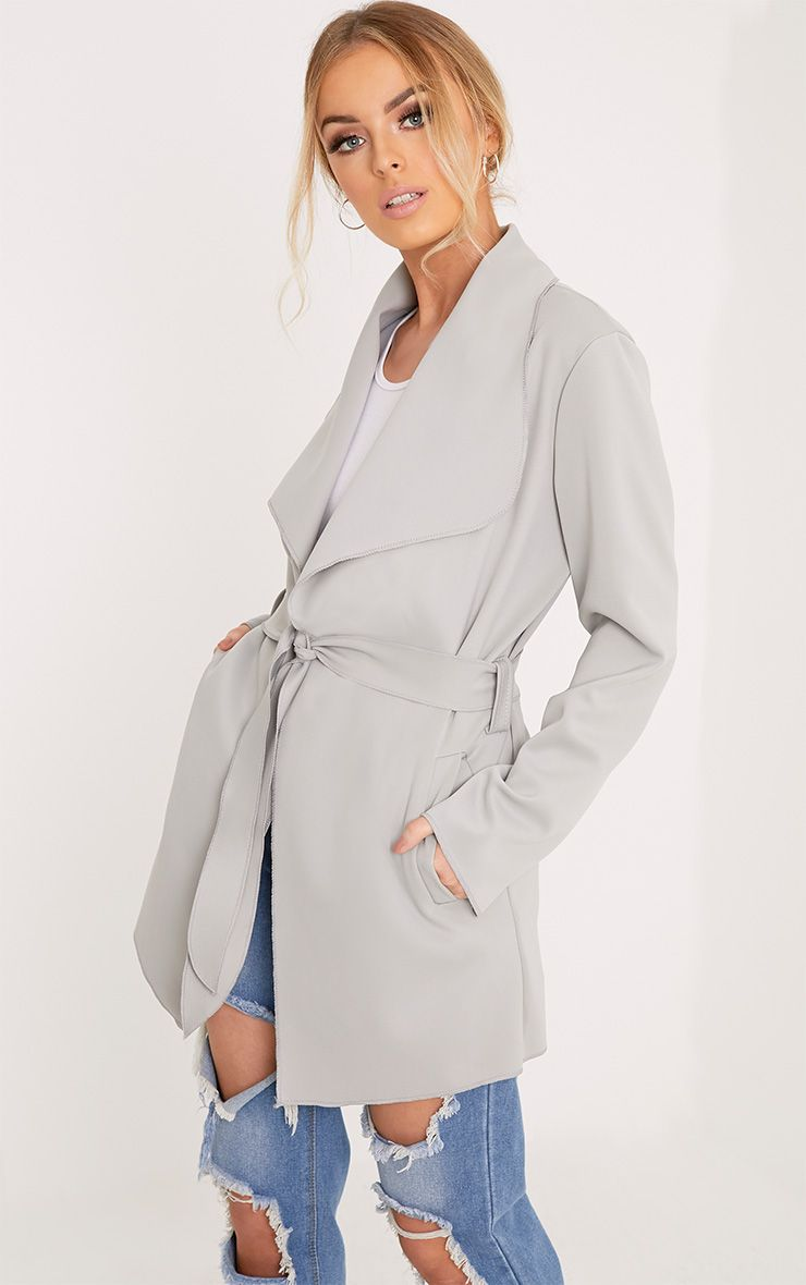Lyla Grey Scuba Waterfall Jacket