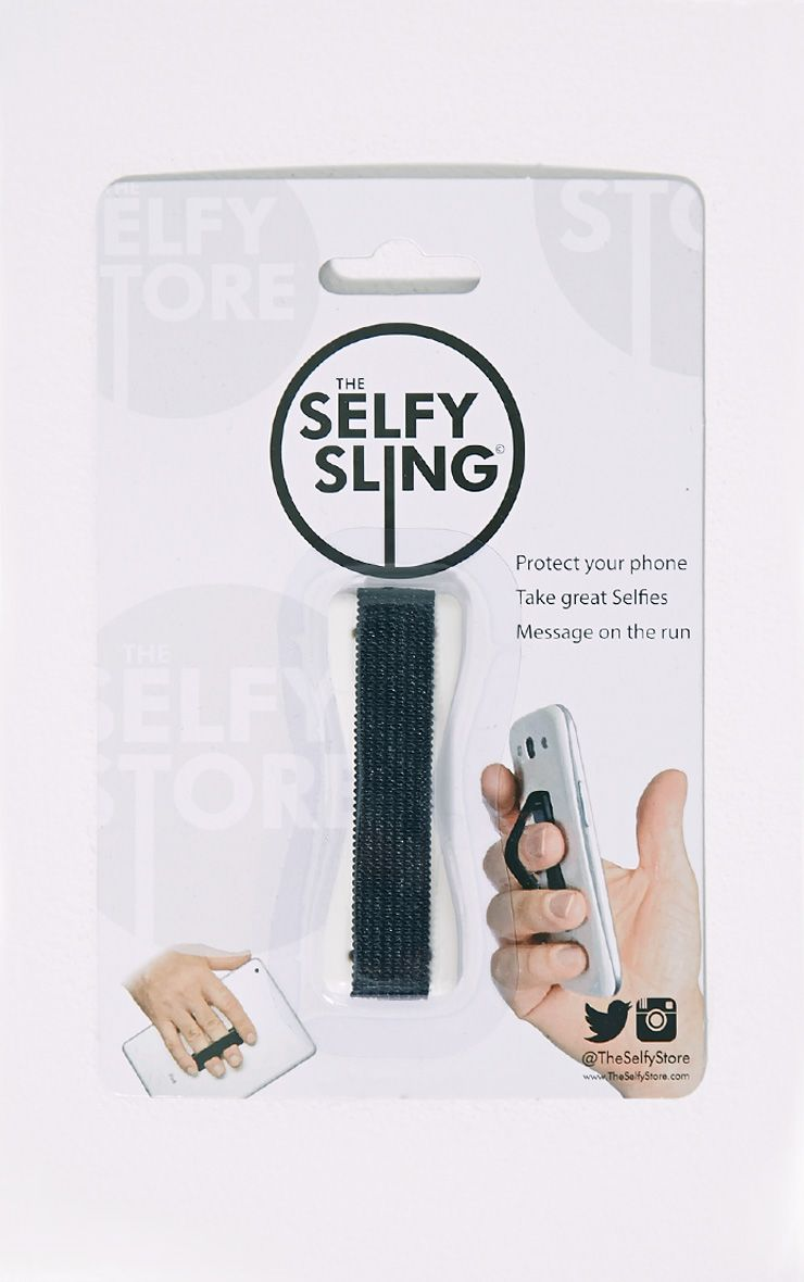 The White Selfy Sling 1