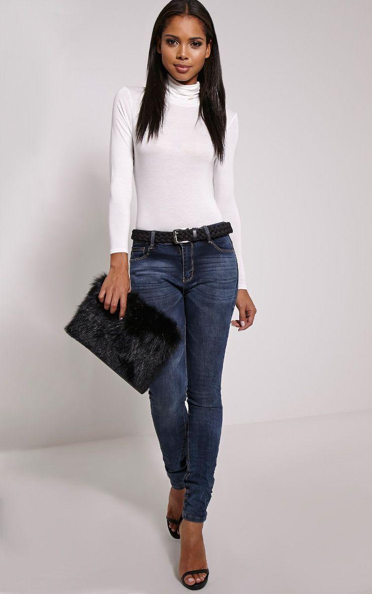 Colette Dark Blue Skinny Jean 1