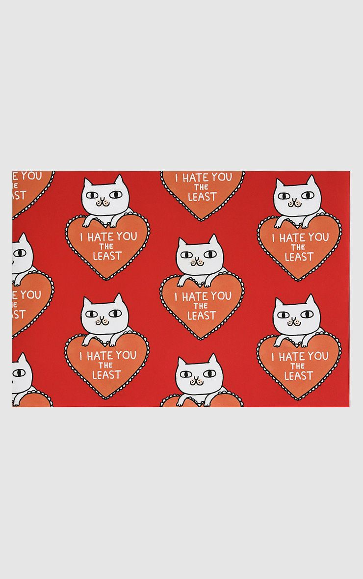 Ohh Deer 'I Hate You The Least' Wrapping Paper