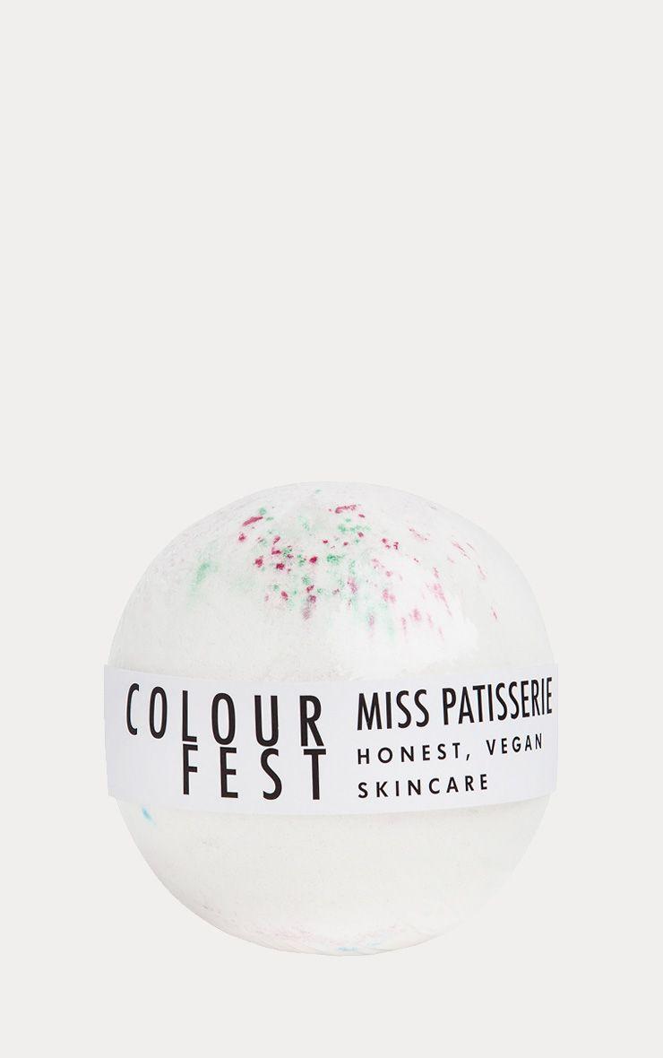 Miss Patisserie Colourfest Bath Ball