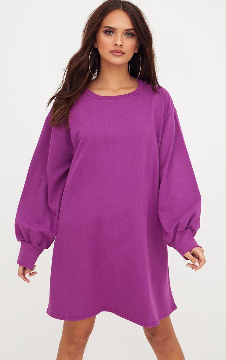 Violet Oversized Sweater Dress
