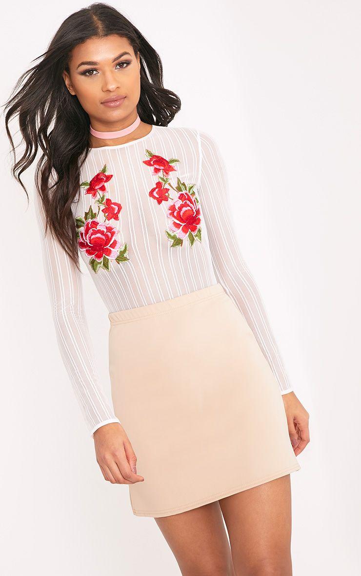 Jessica Stone A-Line Mini Skirt