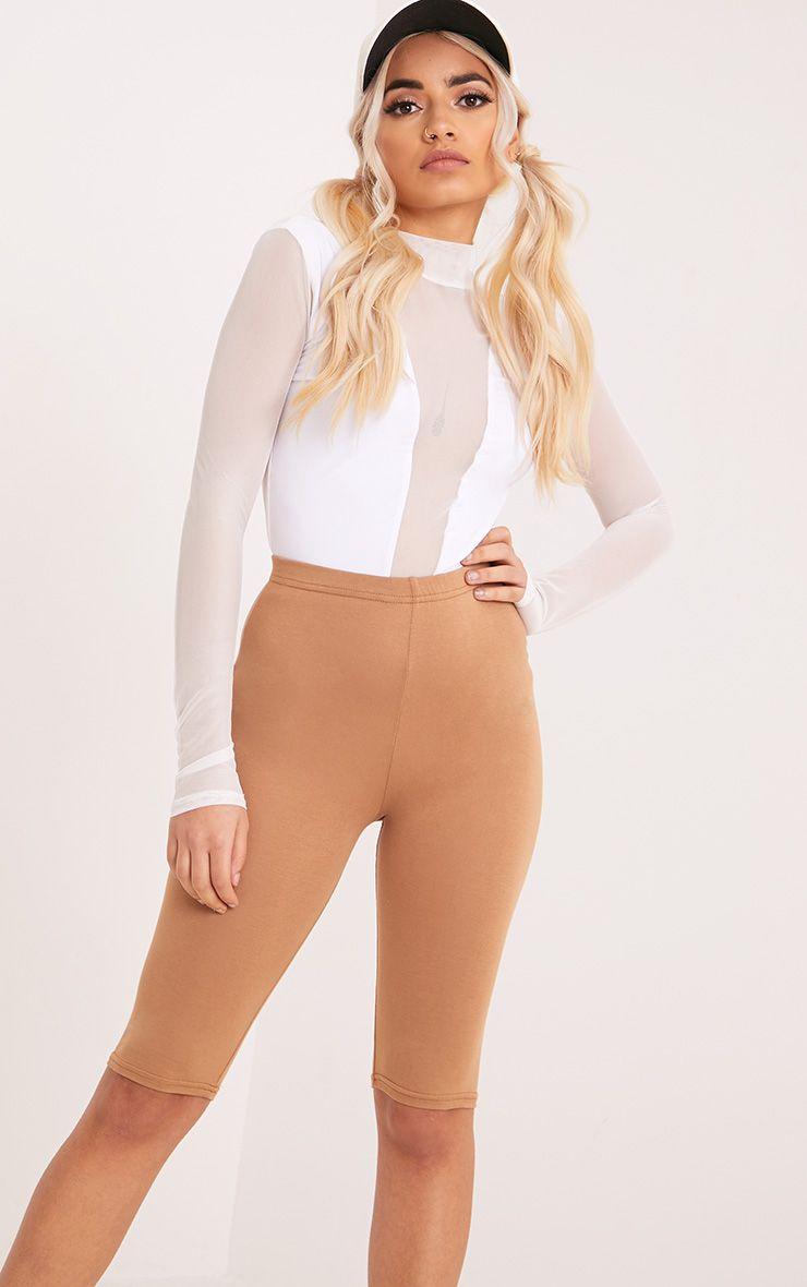 Aleda White Mesh Slinky Longsleeve Thong Bodysuit