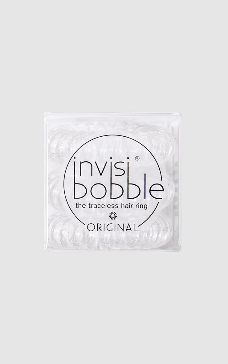 Invisibobble Original Crystal Clear Hair Ties 1
