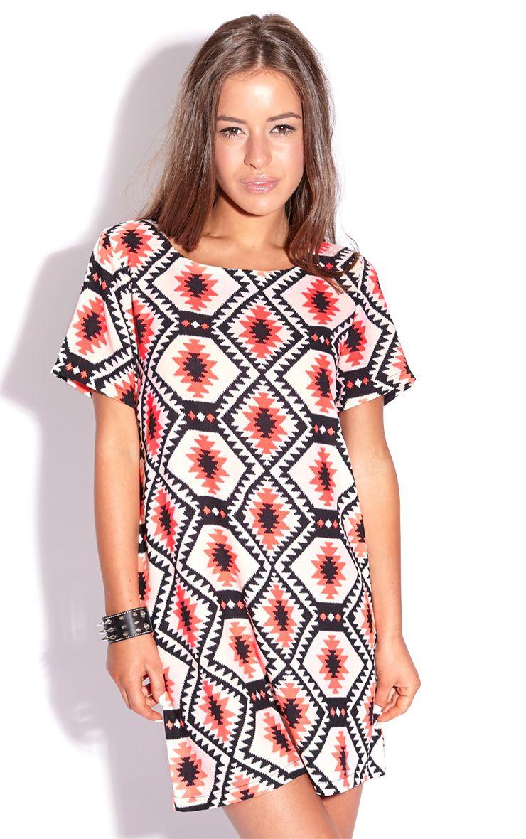 Millu Aztec Print Dress 1