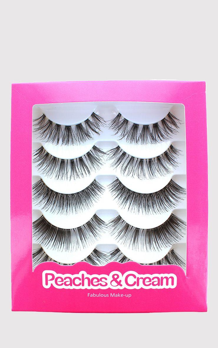 Peaches & Cream Mixed Eyelashes Set