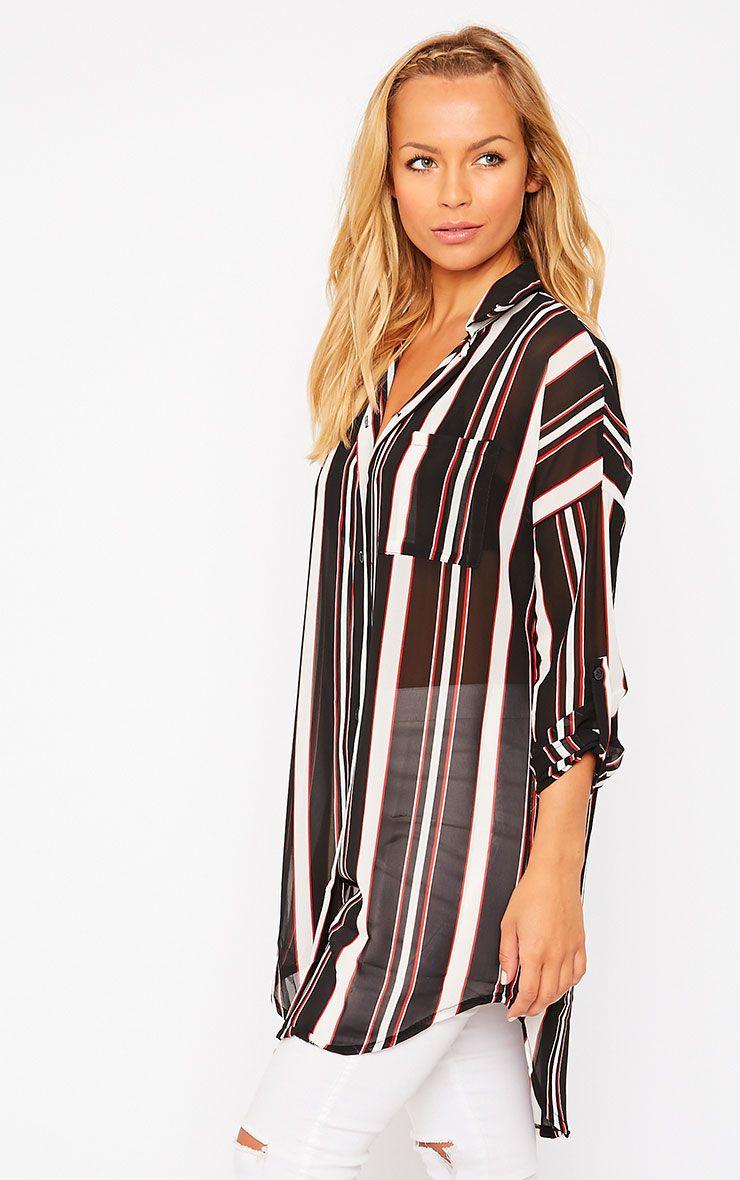 Zadia Stripe Shirt 1