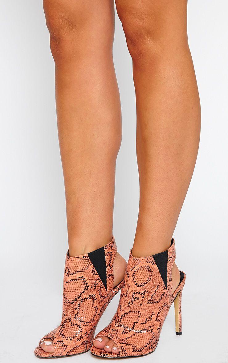 Raeanne Coral Open Heel Shoe 1