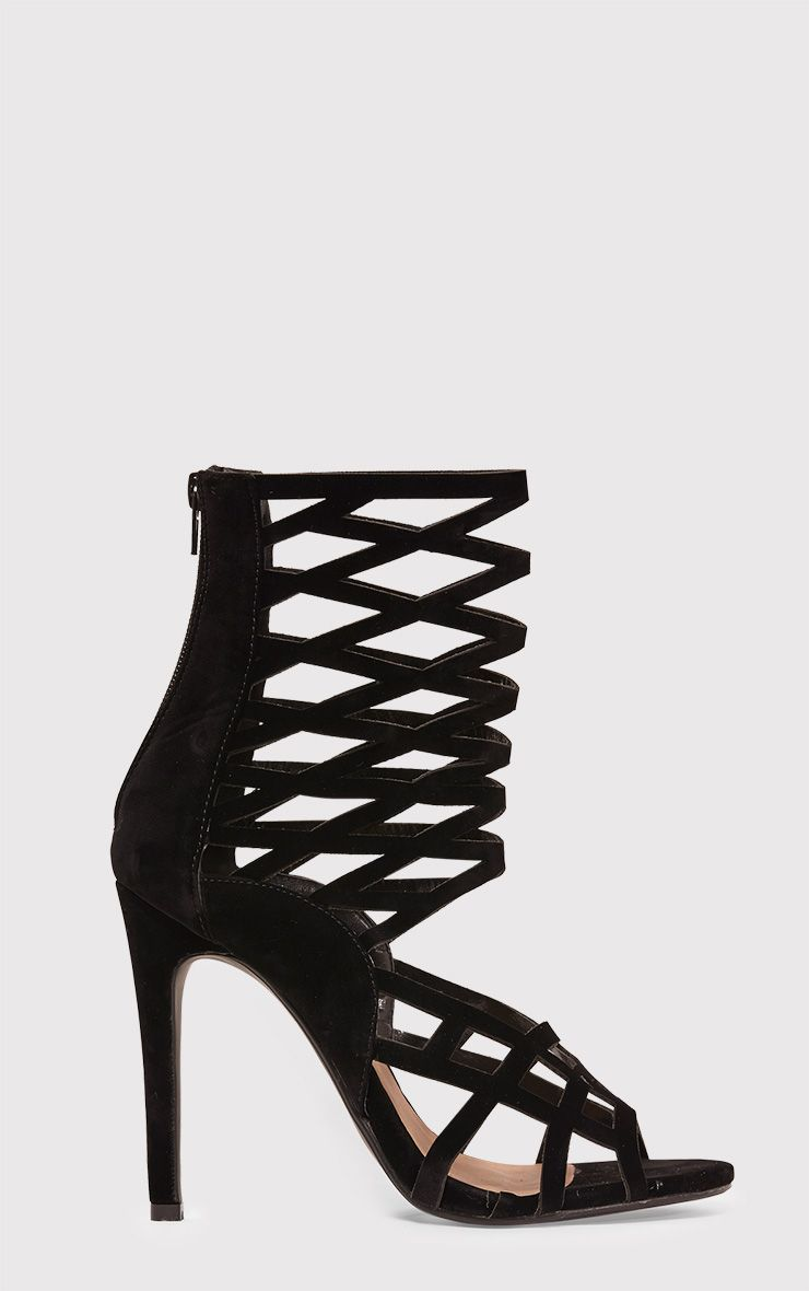 Lornah Black Caged Heels