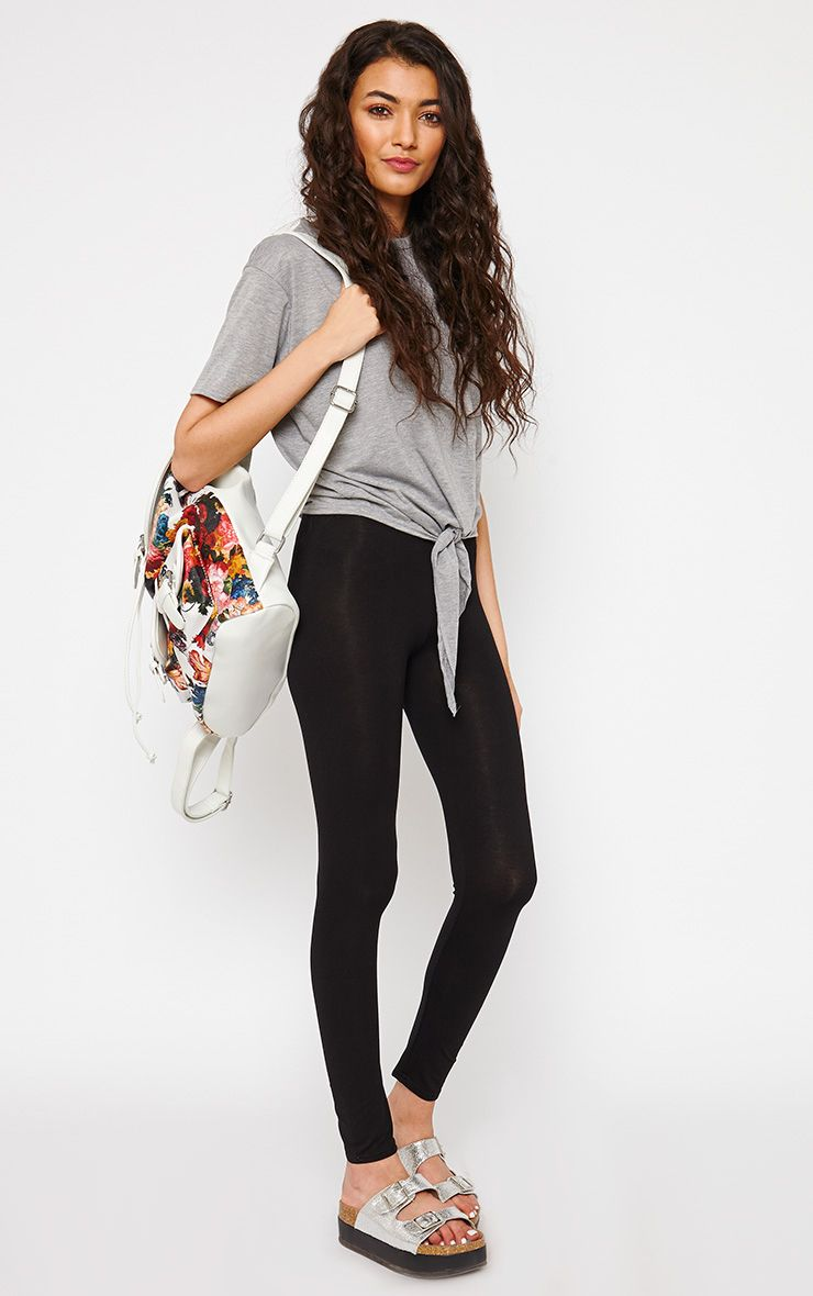 Basic Black Leggings 1
