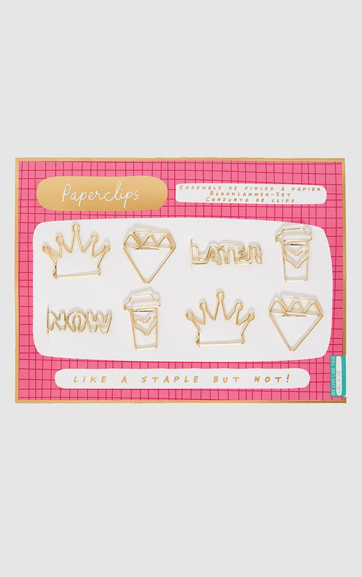 Notes to Self Fancy Paper Clips