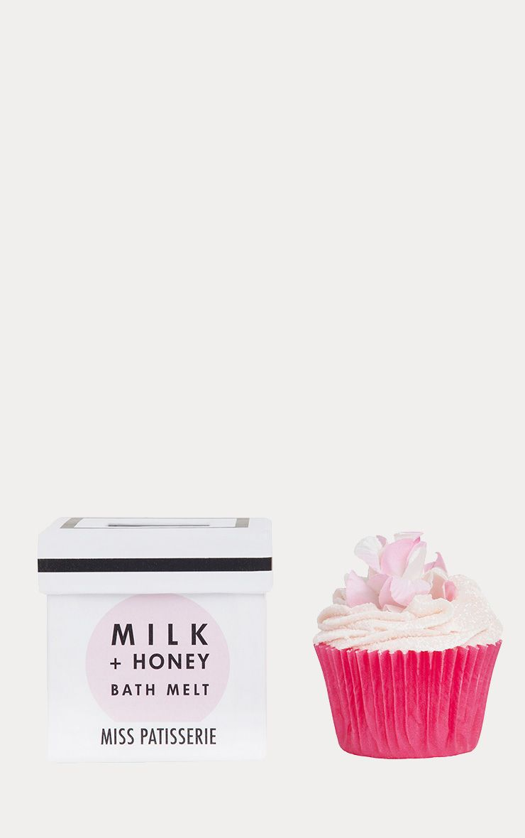 Miss Patisserie Milk & Honey Cupcake Bath Melt