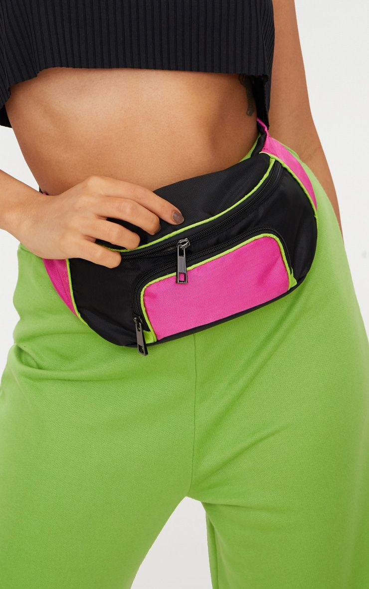 PrettyLittleThing Fucshia Bum Bag